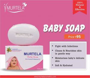 best baby soap in India