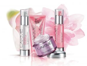 Lakme cosmetic products