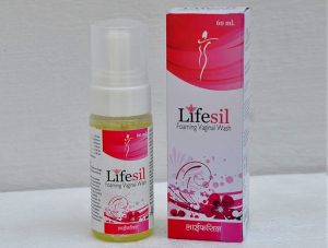 Lifesil foaming vaginal wash