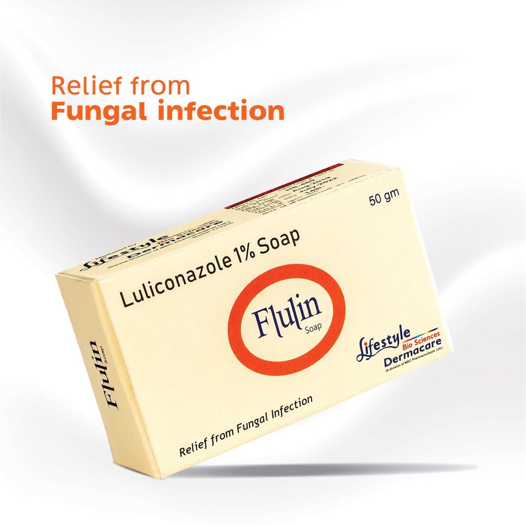 Flulin Soap by Lifestyle BioSciences Dermacare