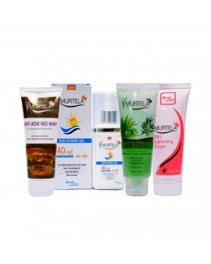 Murtela Advanced Skin Care Combo (Free Lip Balm)