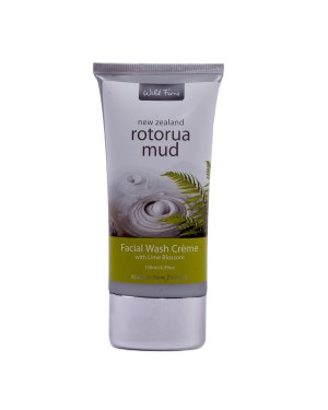 WILD FERNS ROTORUA MUD FACIAL WASH WITH LIME BLOSSOM