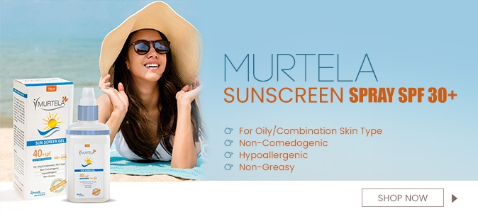 MURTELA SUNSCREEN GEL SPF 40